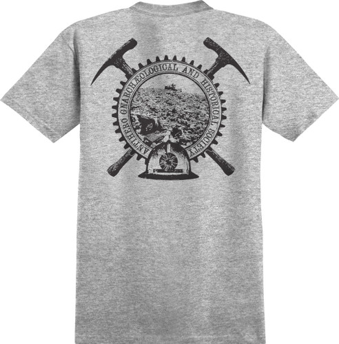 Antihero Skateboards Backfill History T-Shirt (Athletic Heather)