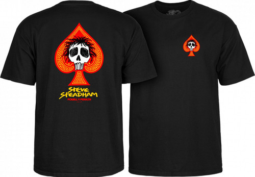 **Pre-Order** Powell Peralta Old School Steadham Spade Skull T-Shirt (Available in 4 Colors)