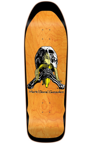 "Blind Mark ""Gonz"" Gonzales Skull & Banana Re-Issue Deck SCREENED"