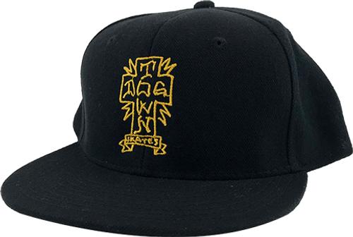 Dogtown Gonz Cross Snapback Hat