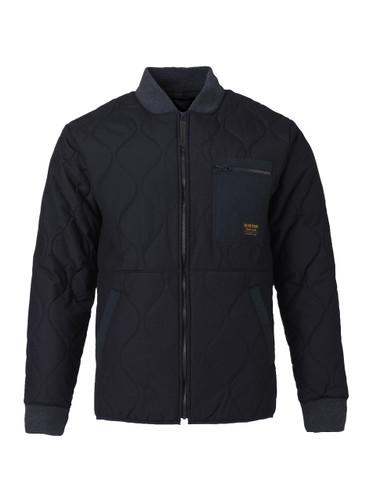 Men's Burton Mallett Bomber Jacket (True Black) FREE USA SHIPPING