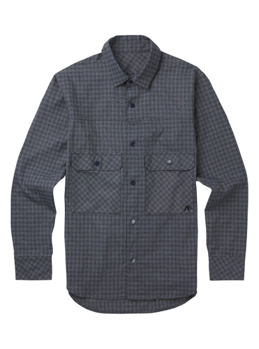 Men's Analog Operative Flannel (Heathers Check)