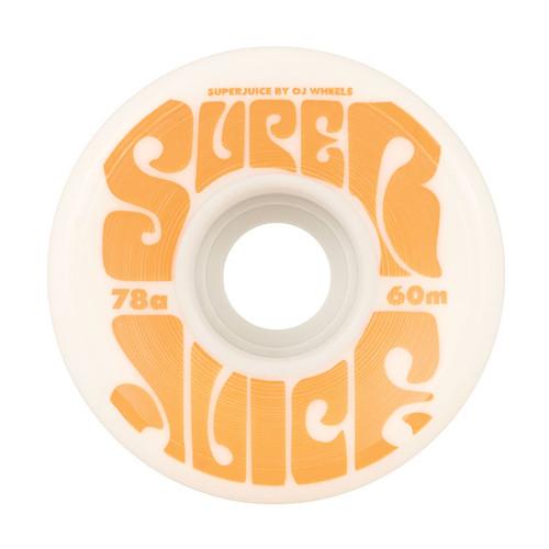 OJ Super Juice 60mm/78a White (Set of 4)