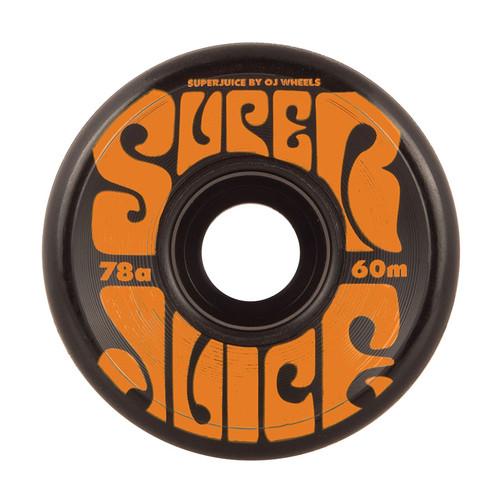 OJ Super Juice 60mm/78a Black (Set of 4)