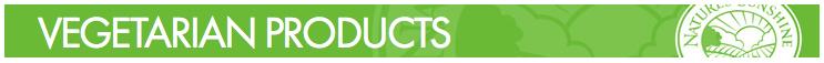 Nature's Sunshine - Vegetarian Products