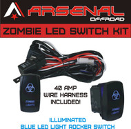 ARSENAL_ZOMBIE_SWITCH_KIT_1__76906.1468349901.190.250?c=2 arsenal offroad tm 40 amp relay 30amp fuse laser blue led light rocker switch wiring harness at readyjetset.co