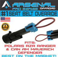 No.1 Seat Belt Bypass for Polaris Ranger RZR Harness Override for Can Am Maverick Commander Defender Accessories