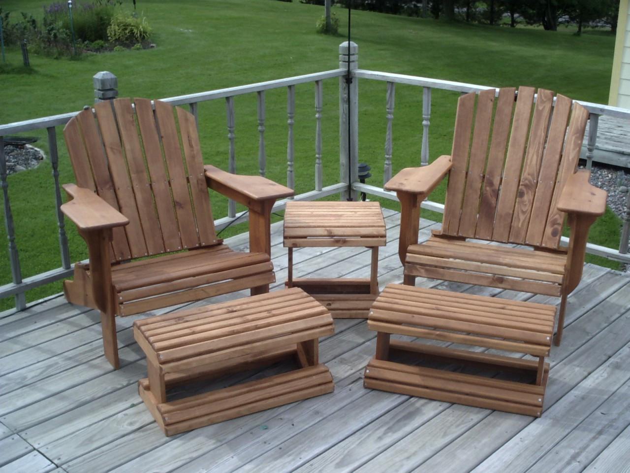 Adirondack Chair U0026 Ottoman Woodworking Plans Part 91