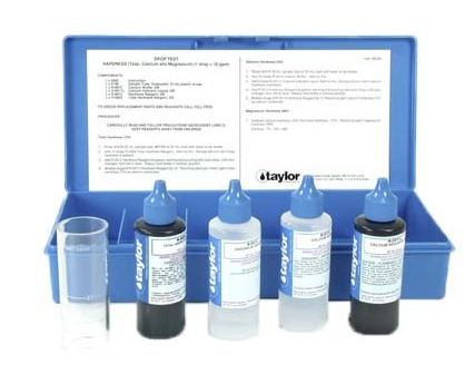 Taylor Technologies, K-1722, Drop Test, Hardness, EDTA, 1 Drop = 10 PPM