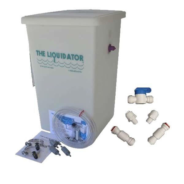 "Hasa Liquidator, 8 Gallon, W/ ""3/8"" Upgrade"