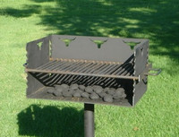 State Park Outdoor Grill