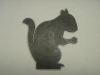 Squirrel Acorn Silhouette - Free Shipping