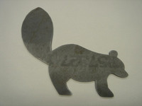 Skunk Silhouette - Free Shipping