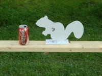 New Steel Squirrel Silhouette Target