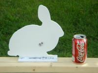 New Steel Rabbit Silhouette Target
