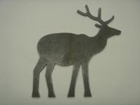 Elk Silhouette - Free Shipping