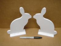 "Rabbit Silhouette Target Targets - 2 Pcs 1/4"" Steel"