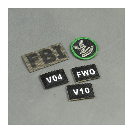Soldier Story - FBI HRT : Patches