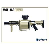 ZY Toys - MGL-140 Grenade Launcher : Desert