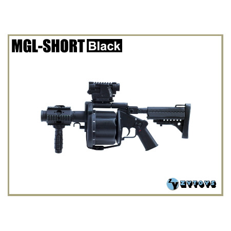 ZY Toys - MGL-SHORT Grenade Launcher : Black