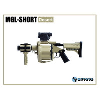 ZY Toys - MGL-SHORT Grenade Launcher : Desert