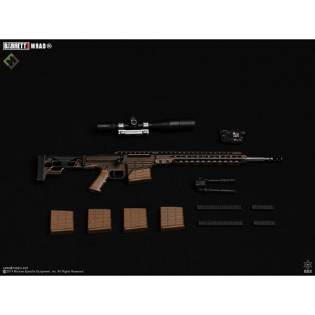 MSE - Barrett MRAD Set : Multi Role Brown