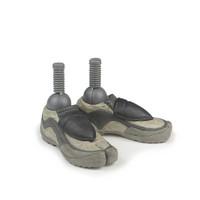 Sideshow - GI Joe Storm Shadow : Ninja Tabi Boots (Pegged For Sideshow body)