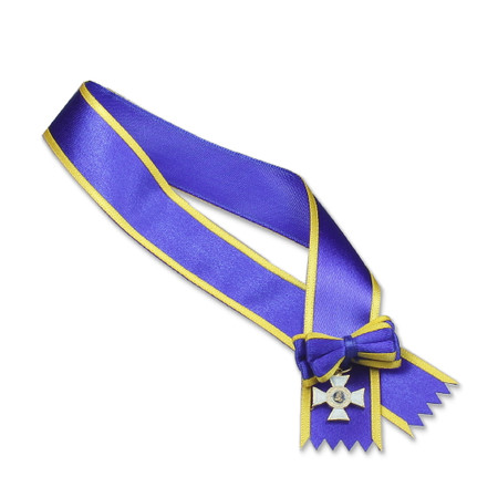 DiD - WWII US General Patton : Order Of Adolphe Of Nassan Grand Croix Sash