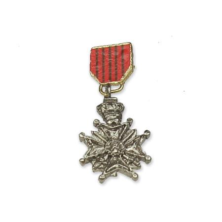 DiD - WWII US General Patton : Belgium Croix De Gurre Medal