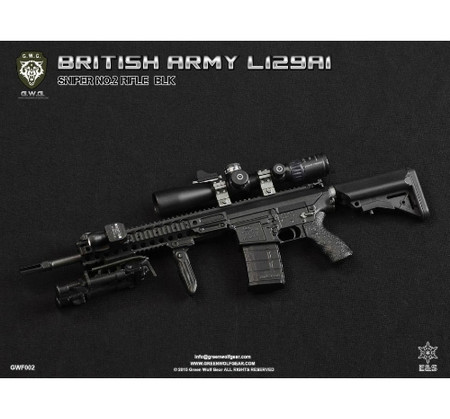 Green Wolf Gear - British L129A1 (Sniper No. 2 Rifle) : BLK