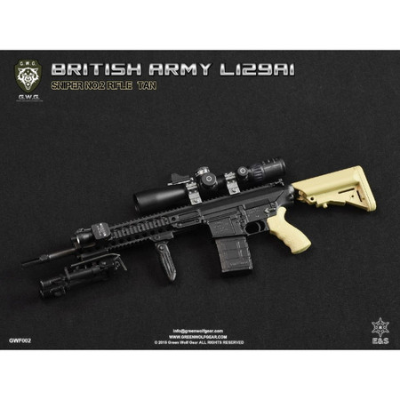 PREORDER : Green Wolf Gear - British L129A1 (Sniper No. 2 Rifle) : Tan