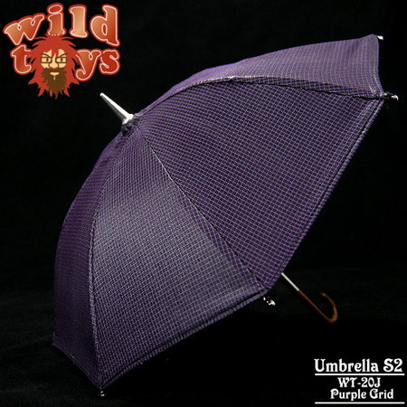 Wild Toys - Umbrella S2 (Purple Grid)