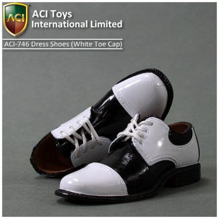 ACI Toys - Moda Dress Shoes (Wht Toecap)