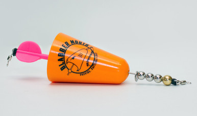Blabber Mouth™ Popping Cork in orange.