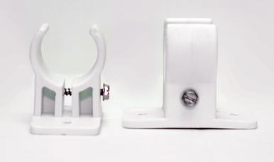 Tension Adjustable Bracket in white