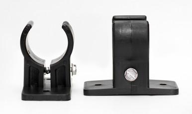 Tension Adjustable Bracket in black.