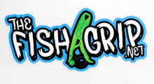 The Fish Grip Sticker - Green
