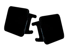 "Black DOT Standard OZ-USA® 3"" Lens Cover for POD lights fog dust Off road 4x4 SUV ATV (1 pair)"