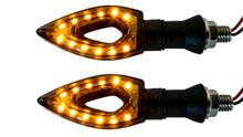 Arrow Turn Signal LED Dual Sport Motorcycle dirt bike light street fighter zl zr