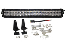 "3D 120w Light bar LED Phillips 20"" spot flood combo off road fog driving 4x4 roof rv"