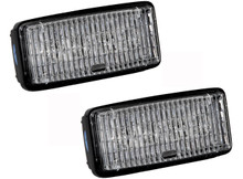 OZ-USA John Deere 12w LED (PAIR) cab head light RE306510 7400 7700 7800 8200 8300 8400