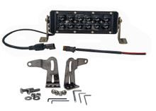 HO 60W OZ-USA® HO Series High Output 7in. Double Row LED light bar. 4x4 Offroad truck. heavy equipment vehicle.