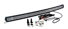"4D Curved 312w 54"" OZ-USA® Light bar LED spot flood combo off road 4x4 4wd race truck baja tested"