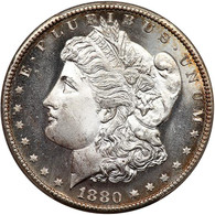 1880-S Morgan S$1 PCGS graded MS-68
