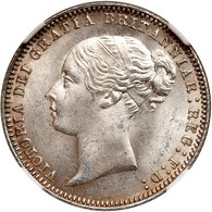Great Britain 1877 Sixpence NGC MS-65. WINGS Approved.