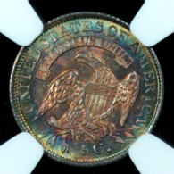 1835 Bust Half Dime Large Date Large C, NGC MS66+