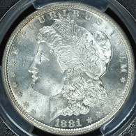 1881-S Morgan S$1 PCGS MS66