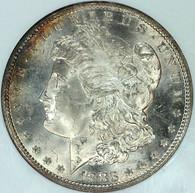 1883-CC Morgan S$1 NGC MS65