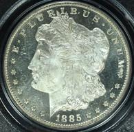 1885-CC Morgan S$1 PCGS MS65 Deep Mirror Prooflike