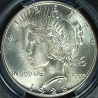 1928-S Peace S$1 PCGS MS64